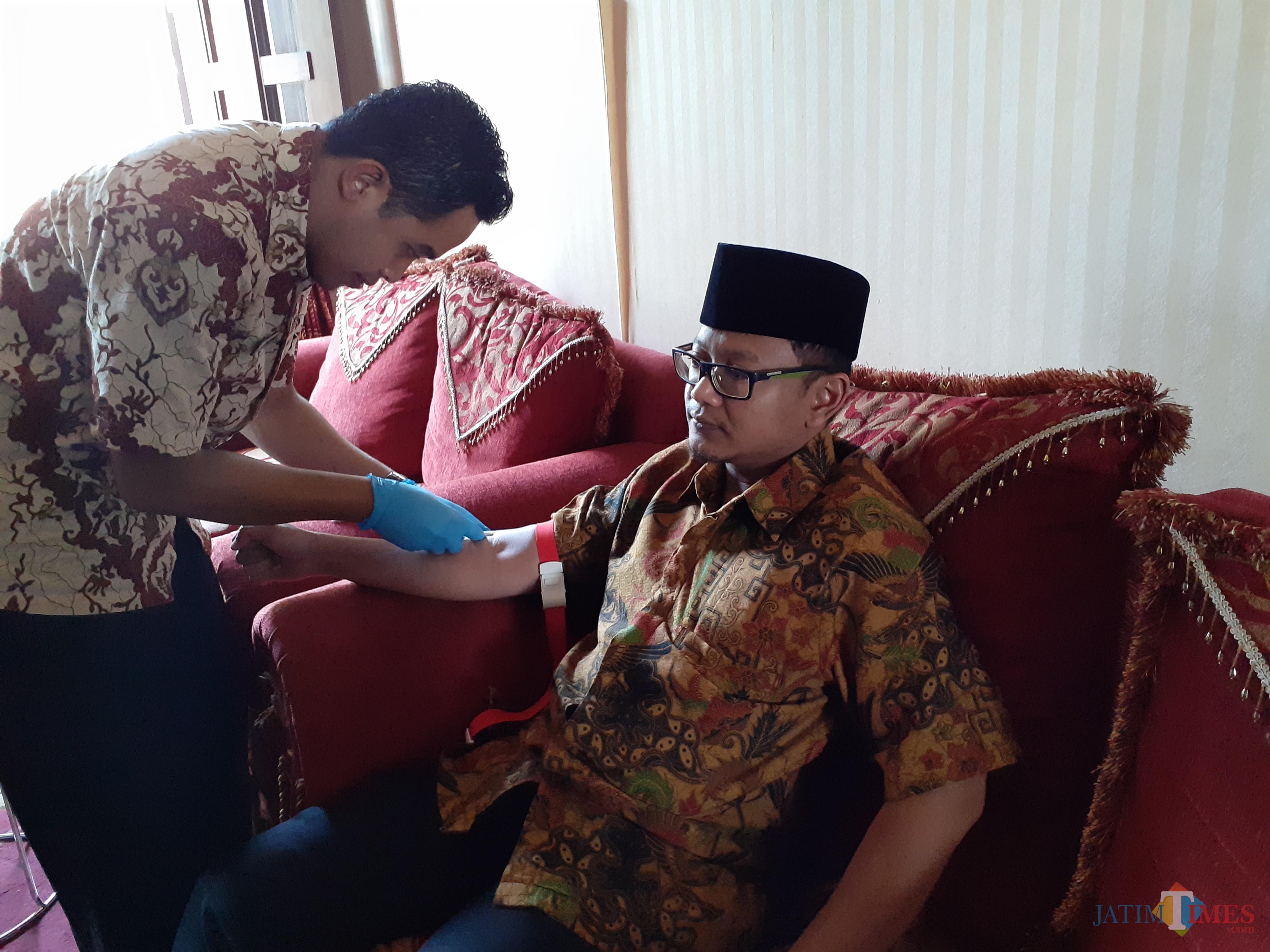 Suasana general check up anggota DPRD Kota Malang, Jumat (11/10).(Arifina Cahyanti Firdausi/MalangTIMES)