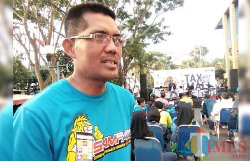 Kepala Bidang Penagihan dan Pemeriksaan BP2D Kota Malang Dwi Cahyo TY (Doc MalangTIMES)