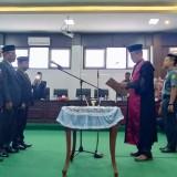 Tanpa Ketua, Hanya Tiga Wakil Ketua DPRD Pamekasan Diambil Sumpah