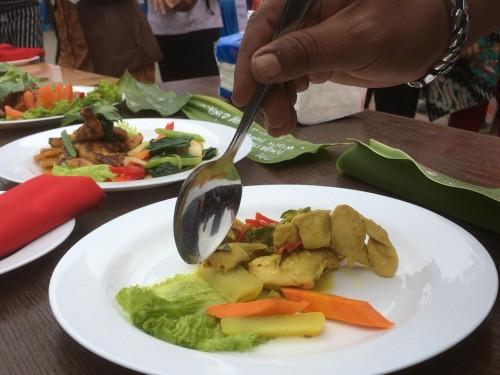Salah satu menu kuliner yang ada di Kabupaten Malang (Foto : Ashaq Lupito / MalangTIMES)