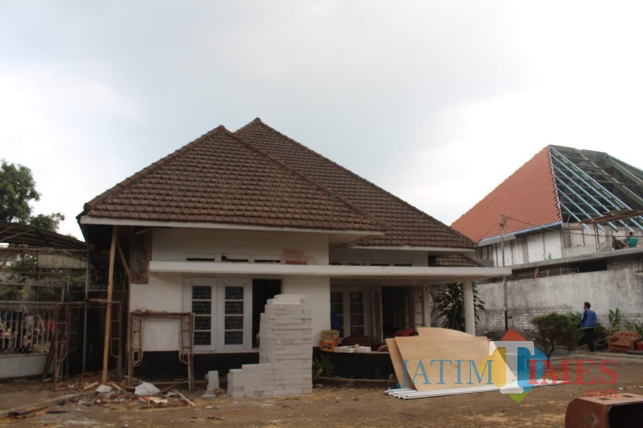 Kondisi terkini rumah bekas kediaman Bung Tomo di kawasan Idjen Boulevard (Pipit Anggraeni/MalangTIMES).