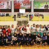 Cari Bibit Muda, Persatuan Wartawan Kota Batu Gelar Woman Futsal Tournament