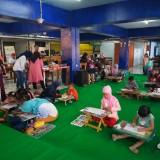 Meriah, Aneka Kreativitas Anak Tersaji di Terminal Kopi Malang