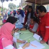 Menuju Desa Sehat, Desa Sanankulon Gelar Jalan Sehat dan Pengobatan Gratis
