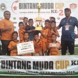 Puluhan Klub Sepak Bola Usia Dini Bertarung di Bintang Muda Cup di Jombang