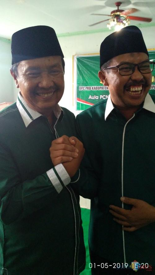 Foto Muhlis/ Ketua DPRD H. Ahmad Dafir dan ketua komisi 1, Tohari/Muhlis