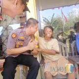 Peduli Polisi Penjaga TNMB, Wanita Ini Dihadiahi Umrah oleh Kapolres