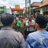 Puluhan Banser Geruduk Mapolres Tulungagung, Desak Temui Pelaku Penyerangan