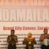 Gubernur Khofifah Apresiasi Deklarasi Bersatu dan Damailah Indonesia yang Digagas FORKAS Jatim