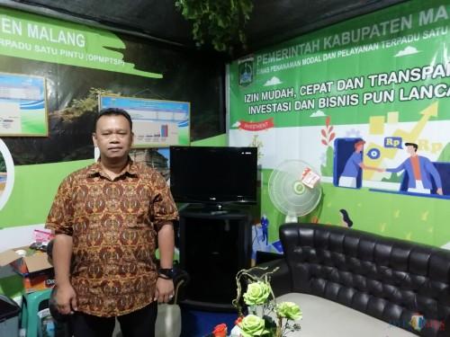 Kepala DPMPTSP Kabupaten Malang Subur Hutagalang (Nana)