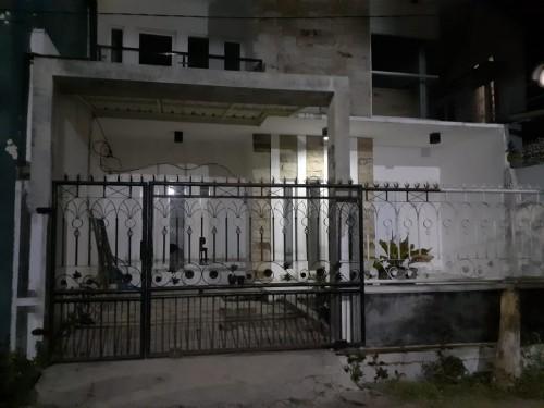Rumah yang diduga merupakan kediaman terduga teroris yang ditangkap (ist)