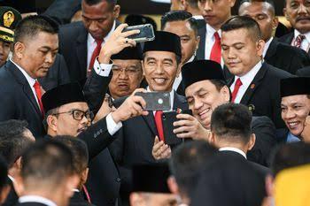 Ramai jadi perbincangan terkait tak dilibatkannya KPK dalam penyusunan kabinet jilid II Jokowi (Beritagar)