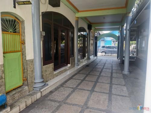 Lokasi kejadian penangkapan terduga teroris di Jalan Kedawung Gang 9, Kota Malang (Hendra Saputra)