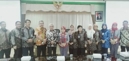 Dinas Pendidikan terima studi tiru jajaran Kabupaten Sleman. (Foto: Humas)