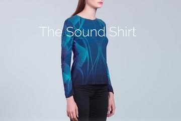Sound Shirt, baju khusus tunarungu untuk mendengarkan musik. (Foto: Istimewa)