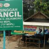 Pasca Kebakaran Hutan, Jalur Pendakian Gunung Anjasmoro Jombang Ditutup