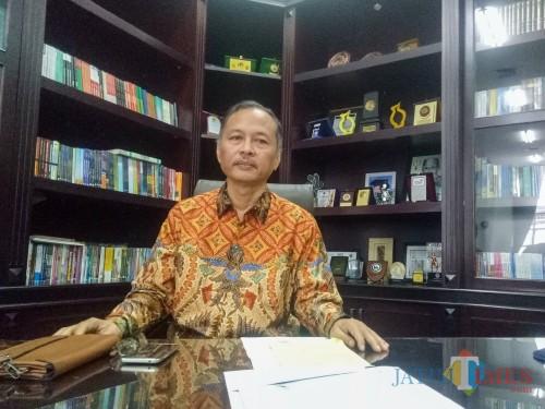 Rektor UIN Malang, Prof Dr Abdul Haris MAg. (Foto: Imarotul Izzah/MalangTIMES)