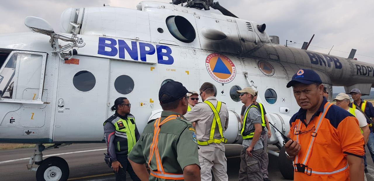 Helikopter miliki BNPB.