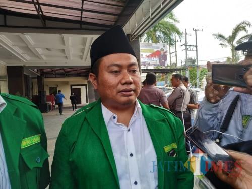 Ketua LBH Ansor, M. Ikhsan Mukhlason (Foto : Anang Basso / TulungagungTIMES)