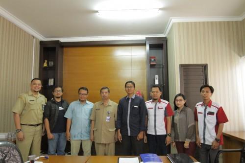 Barenlitbang Kota Malang saat berkunjung ke Unikama melakukam penandatanganan nota kesepahaman (Unimama For MalangTIMES)