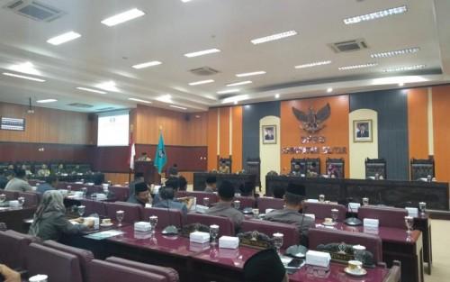 Paripurna Nota Keuangan APBD 2020 dan Ranperda Usulan Eksekutif DPRD Kabupaten Blitar