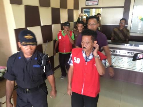 Dua tersangka korupsi TKD Bulusari