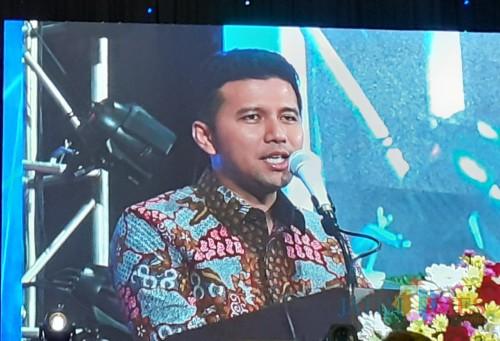 Wakil Gubernur Jatim, Emil Elistianto Dardak (Arifina Cahyanti Firdausi/MalangTIMES).