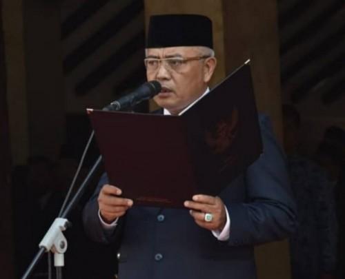 Bupati Malang Sanusi menyambut senang bila Kabupaten Malang bisa jadi Ibukota Jatim (Humas Pemkab Malang)