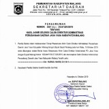 Bupati Malang Sanusi Pilih Diam Terkait Polemik Pelantikan Direktur Administrasi PD Jasa Yasa