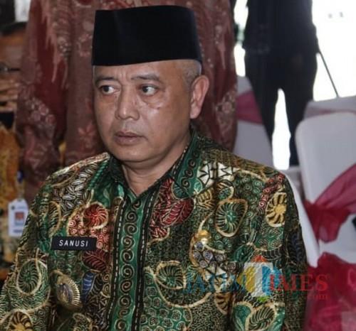 Bupati Malang Sanusi menyampaikan ulang wacana pembangunan Terminal Pariwisata di Taman Jeru, Tumpang, yang lama mangkrak (for MalangTimes)