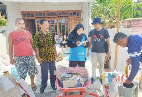 Launching GerPilas MuDaDaRi, Warga Perum Sutri Ubah Sampah Jadi Rejeki