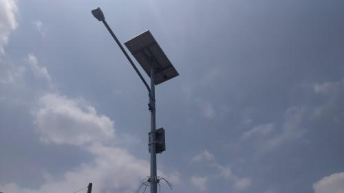 Lampu PJU tenaga suray bantuan kementrian ESDM (Doc MalangTIMES)