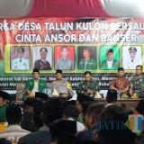 Ajak Akhiri Konflik Tulungagung Selatan, Kapolres Potong Tumpeng di TKP Penyerangan Banser