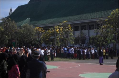Sambut Hari Santri Nasional Uin Malang Wajibkan Seluruh
