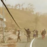 Angin Kencang dan Debu Tebal Masih Selimuti Jalur Batu - Pacet, Wali Kota Minta Polres Tutup Akses Jalan Tersebut