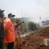 Dampak Kebakaran TPA Supit Urang Melebar, Wali Kota Malang Sutiaji Tinjau Langsung Lokasi