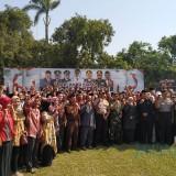 Ratusan Calon Kades  di Kediri Ikuti Deklarasi Damai