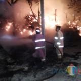 Api Lalap Penggilingan Tebu, Angka Kebakaran di Tulungagung Lampaui Tahun 2018