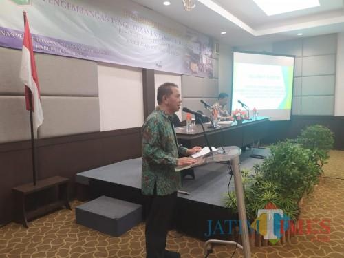 Sekda Kabupaten Malang Didik Budi Muljono dalam bimtek pengembangan dan pengelolaan BUMDesa (for MalangTimes)