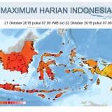 Oktober Terasa Panas Seharian, Inilah Catatan Suhu Tertinggi BMKG