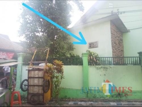 Pelaku pembobolan masuk melalui jendela ventilasi dapur (Anggara Sudiongko/MalangTIMES)