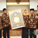 Lepas Kafilah MTQ, Wakil Wali Kota Kediri: Harumkan Nama Daerah