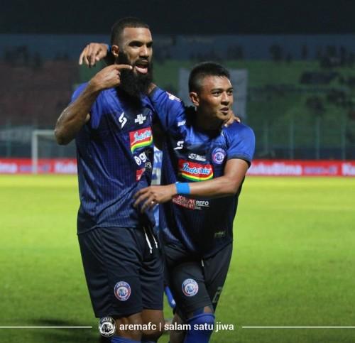 Arema FC Harap Pemain Bisa Manfaatkan Setiap Peluang Jadi Gol