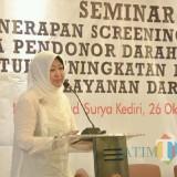 Peringati Ultah, PMI Kota Kediri Gelar Seminar  Screening Antibody