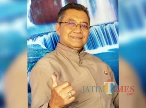 Edy Soelamsiyanto, pemohon ukur tanah yang merasa menjadi korban.
