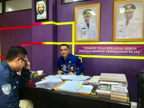Kepala BP2D Kota Malang Ade Herawanto (BP2D For MalangTIMES)