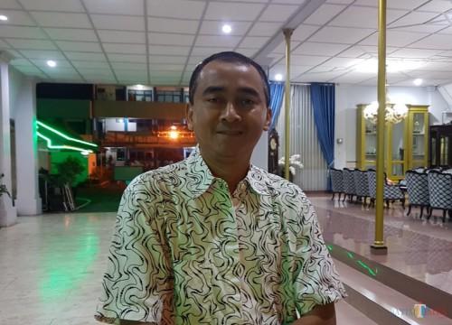 Kepala BKPSDM Kabupaten Malang Nurman Ramdansyah saat ditemui awak media terkait jumlah kuota CPNS. (Foto : Ashaq Lupito / MalangTIMES)