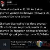 Wow, Anggaran Rp 5 Miliar untuk 5 Influencer yang Bantu Promo Pariwisata Jakarta di Medsos, Ini Kata Warganet