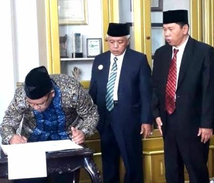 Hibah Daerah untuk Pilkada Kabupaten Malang 2020 Ditandatangani, Honor Pengawas Pilbup akan Berkurang