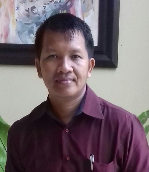 Petahana dan kades terpilih Desa Gumirih Murai Ahmad.